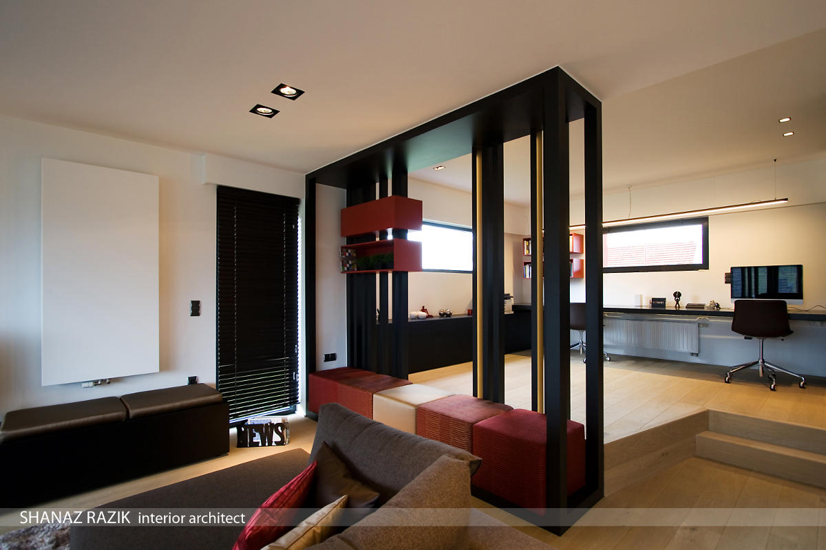 het verhaal achter een interieur project te oosterzele shanaz razik. Black Bedroom Furniture Sets. Home Design Ideas