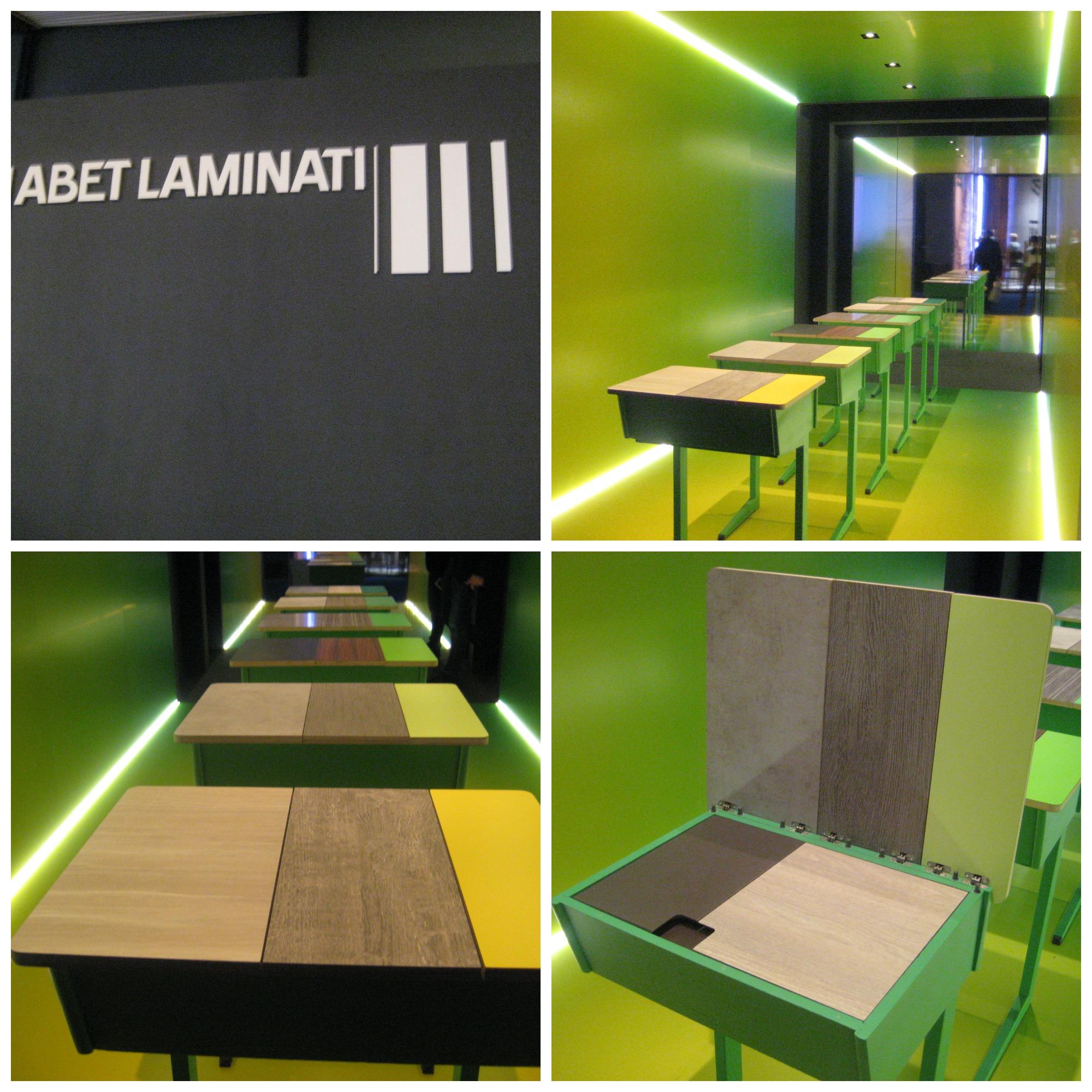 Stand van Abet Laminati