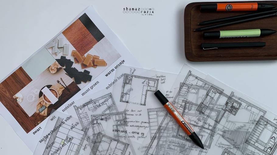 Ontwerp van een interieur – De eerste stap – Deel 2
