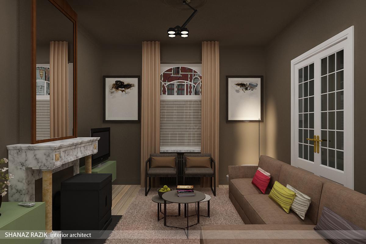 Interieurinrichting herenhuis eetkeuken living veranda for Interieur up