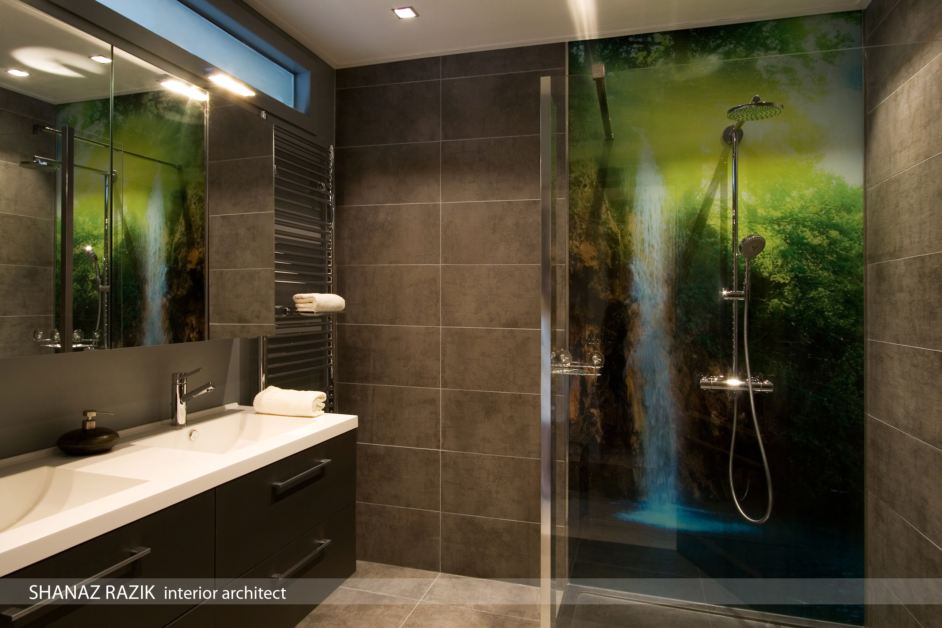Inloopdouche design ontwerp inspiratie voor uw badkamer meubels thuis - Fotos italiaanse douche ontwerp ...