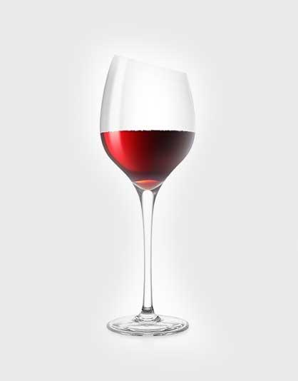 Bordeaux rode wijn glazen – Set van 6 stuks