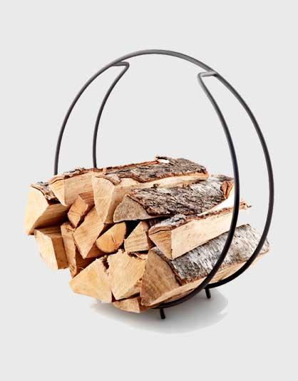 FireGlobe Log Holder